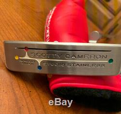 1st in 500! Scotty Cameron Studio Stainless Newport Beach 35