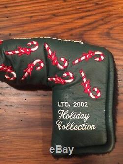 2002 Scotty Cameron Holiday Newport 2 Limited 35 inch Putter W Candy Cane Hdcvr
