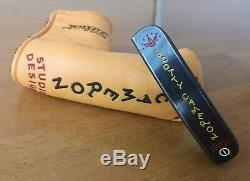 2002 Scotty Cameron Studio Design 1 Right Handed 35 Putter With Headcover