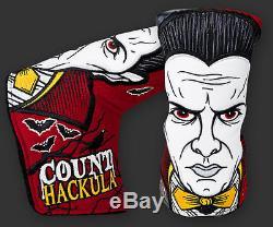 2016 Scotty Cameron Halloween Count Hackula Blade Putter HC Glow-In-The-Dark