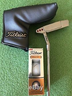 2018 Titliest Scotty Cameron Newport 2 35in RH with a New Sleeve Of Pro V1 Balls