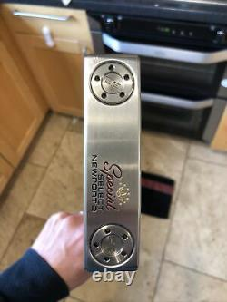 2021 Titleist Scotty Cameron Special Select Newport 2 Putter 35, headcover, Vgc