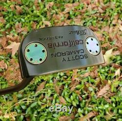 CUSTOM 34 Scotty Cameron California Fastback Putter Golf Club