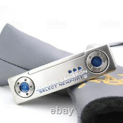 CUSTOM Titleist Scotty Cameron 2018 Newport 2 BLUE Edition Golf Putter Authentic