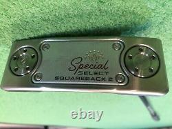 Custom 2020 SCOTTY CAMERON SPECIAL SELECT SQUAREBACK 2 35 + LA Golf Shaft