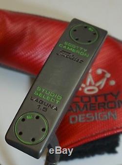 Custom Gunmetal Oxide Scotty Cameron Studio Select Laguna 1.5 Putter