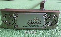 Custom Scotty Cameron Special Select Squareback 2 TPZ ONE 35 LA Golf 35 Shaft