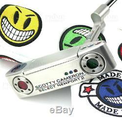 Custom Titleist Scotty Cameron 2018 Newport 2 Joker Smile Edition Golf Putter