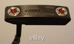 Excellent Scotty Cameron Select Newport 2 Black Model 33 Titleist Popular Model
