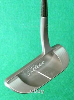 LH Scotty Cameron Pro Platinum Del Mar Three REFINISHED 35 Putter with HC