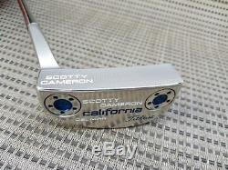Left handed custom Scotty Cameron Del Mar California 34 MINT