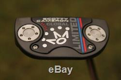MINT 2018 LIMITED GLOBAL SCOTTY CAMERON Putter 34 (HEADCOVER INCLUDED)