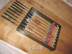 Magnetic Golf Club Display Rack Case for 8 Scotty Cameron Putters & Head covers