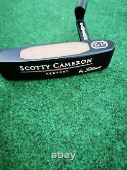 Mint Scotty Cameron Tei3 Teryllium 34 Putter RH