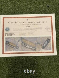 Mint Tiger Woods Scotty Cameron Newport Sole Stamped TeI3 1997 T C 1/ 7