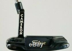 NEW! SCOTTY CAMERON 1997 black oxide Classic Newport 33 1/2 with headcover