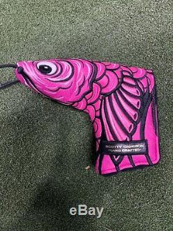 NEW Scotty Cameron Gallery KOI PINK PUTTER Headcover VERY RARE