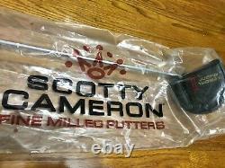 NEW Scotty Cameron Justin Thomas Phantom X 5.5 Limited Ed 2020 MADE