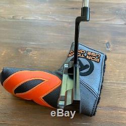 New Flawless Scotty Cameron Scotydale 009M Long Beach 34 350G Black Tour Rat