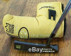 New Scotty Cameron Circa 62 Early Release #2 35 Putter 1st of 500