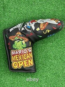 New Scotty Cameron Marios Mexican Open Putter Head Cover Donkey MMO 2017