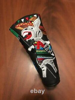 New Scotty Cameron Marios Mexican Open Putter Head Cover Donkey MMO 2017 Worm