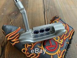 New Scotty Cameron Masterful Super Rat 1 Putter in Blue Pearl 34 & 20g Weights
