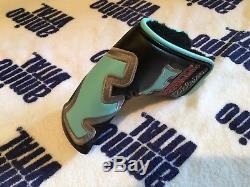New Scotty Cameron Newport 303 SSS Circle T Putter Tour Issue Tiffany HeadCover