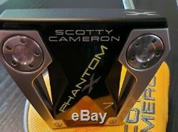 New Scotty Cameron Phantom X 7 34 Inch Putter & Cover Titleist