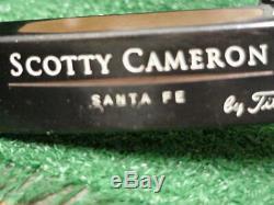 Nice Titleist Scotty Cameron Teryllium Tei3 Santa Fe Putter 34 inch