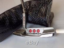 Polished Scotty Cameron Studio Select Newport 2 Putter + Head Cover