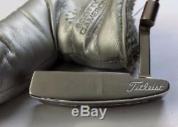 Polished Scotty Cameron Studio Stainless Laguna 2.5 Putter + Head Cover