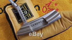 RARE Scotty Cameron Circa'62 No. 3 Custom Shop Putter 35-330G Deep Face Milled