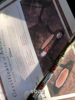 RARE Scotty Cameron T22 Teryllium NEWPORT2 Tour MINT no Cover 34inch