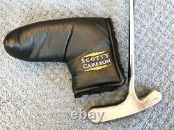 RARE Titleist Scotty Cameron Bullseye Blade Putter, 34.25 Steel Shaft
