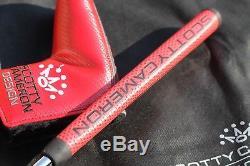 RARE Tour Black Scotty Cameron Newport Select Custom Issue Circle T Matador