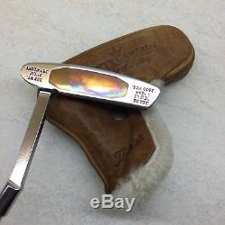 RARE UNUSED 1998 Scotty Cameron Xperimental Prototype Putter With Cover STUNNING