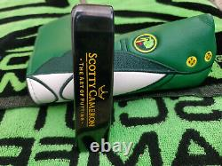 Rare LH Scotty Cameron Newport The Art Of Putting Putter 34.5LEFTY MINTY