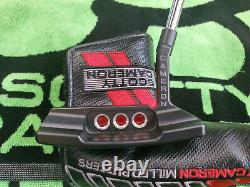 Rare LH Scotty Cameron Select Newport 2 Black Putter 34LEFTY GREAT CONDITION