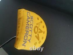 Rare Left Hand Scotty Cameron Phantom 7.5x Milled Mallet Putter