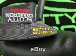 Rare Scotty Cameron California Sonoma Custom Shop Black Putter 35 MINTY