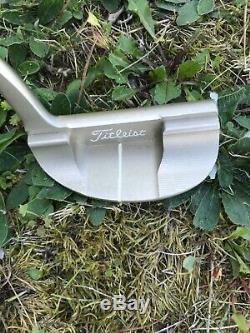 Rare Scotty Cameron Inspired by Sergio Garcia golf putter + Original Headcover