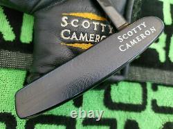 Rare Scotty Cameron Newport Gun Blue Putter 35 MINT