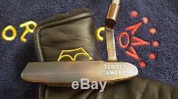 Rare Scotty Cameron Newport Oil Can Custom Putter 35 MINT
