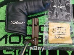 Rare Scotty Cameron Newport Oil Can Putter 34.25 Stunning! MINT