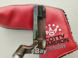 Rare Scotty Cameron Newport Oil Can The Art Of Putting Putter 35