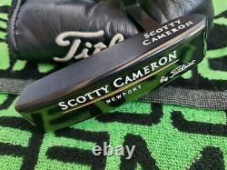 Rare Scotty Cameron Newport Putter Gun Blue 35 Stunning MINT ALL ORIGINAL
