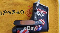 Rare Scotty Cameron Newport Two Tei3 Black Putter 35 MINT