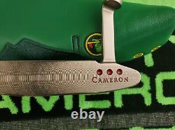 Rare Scotty Cameron Pro Platinum Newport Two Custom Shop Putter 35 Mint