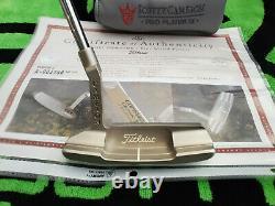 Rare Scotty Cameron Pro Platinum Newport Two Putter 35COA